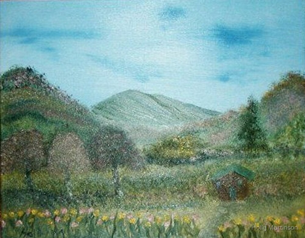 Hills of spring by Holly Martinson