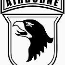 101st Airborne stencil by jcmeyer