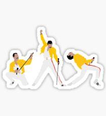 Freddie x 3 Sticker