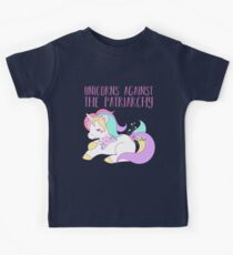 Unicorns Against the Patriarchy Kids T-Shirt