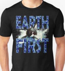 EARTH FIRST Ocean Unisex T-Shirt