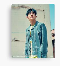 WONHO Shine forever Canvas Print
