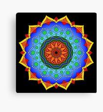 Eppur Si Muove Mandala Canvas Print