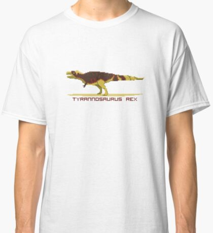 Pixel Tyrannosaurus Classic T-Shirt