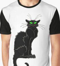 Black cat origin Graphic T-Shirt