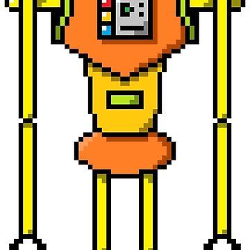 Pixel Robot 007 by Vampireslug