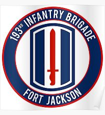 193rd Infantry Poster
