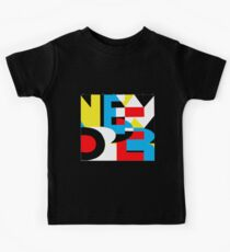 Joy Division New Order rare shirt design Kids Tee