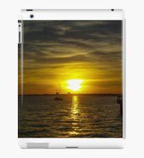Sailing the Sunset iPad Case/Skin