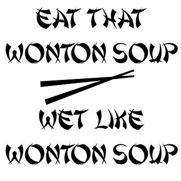 Wonton Soup by RobbieSeJustin