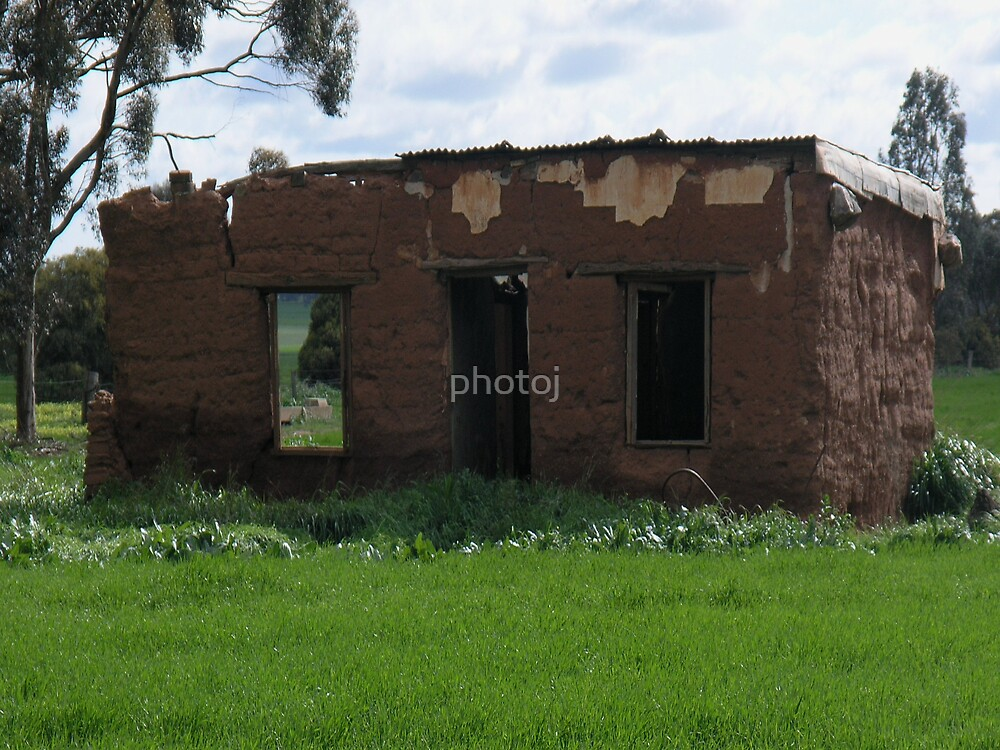 photoj South Australia's, 'Mud Cottage' by photoj