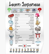 Funny Way to Learn Japanese Poster