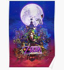 Majora's Mask 3d Poster