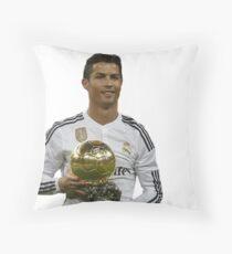 CR7 Cristiano Ronaldo Throw Pillow