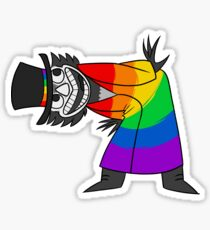 Lil Babadook: Gay Icon Sticker