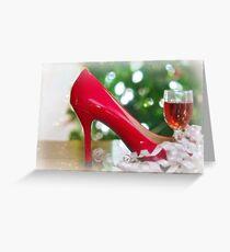 Christmas Reds Greeting Card