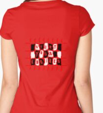 Start Your ENGINES... Women's Fitted Scoop T-Shirt