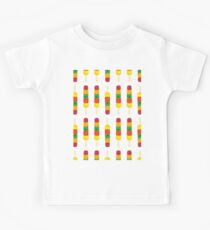 Colorful Ice Lollies Kids Tee