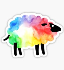 Rainbow Sheep Sticker