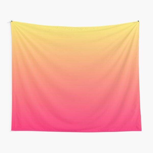 modern chic girly hot pink orange fuschia ombre Tapestry