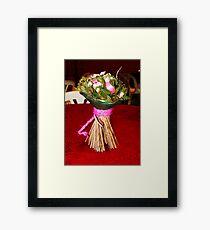 The Wedding Flower Framed Print