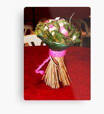 The Wedding Flower Metal Print