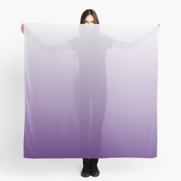 chic minimalist egant abstract lilac purple ombre Scarf