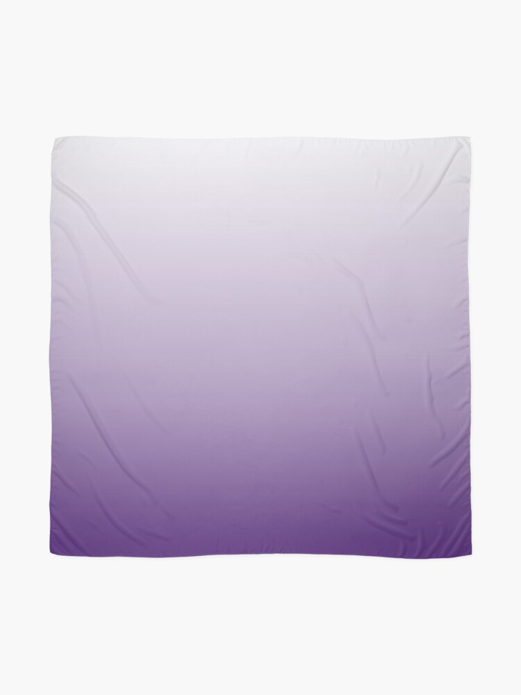 Alternate view of chic minimalist egant abstract lilac purple ombre Scarf