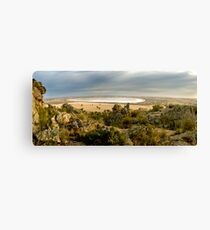 mitre lake Canvas Print