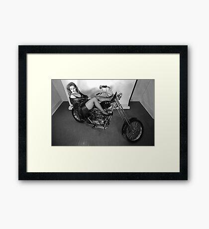 '71 Triumph Framed Print