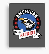 American Patriot - USA Eagle Canvas Print