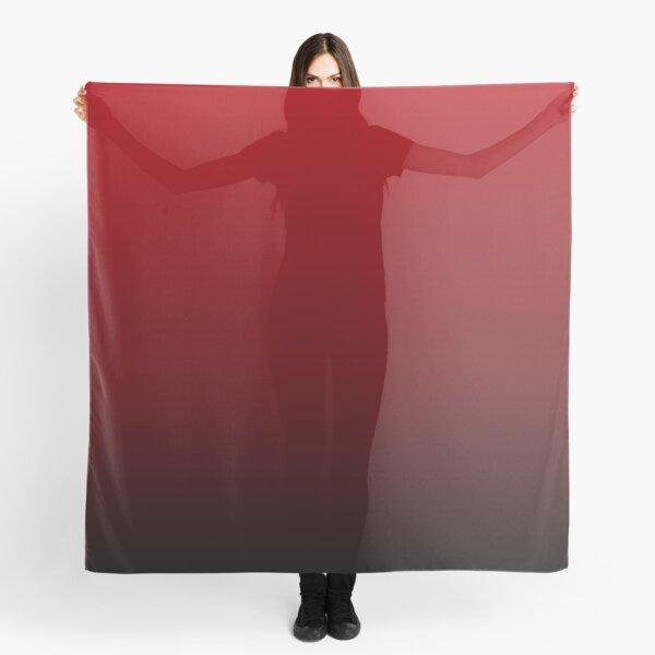 vintage vampire red black burgundy ombre Scarf