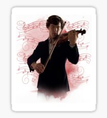 Sherlock- The Violinist  Sticker