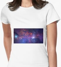 In the Heart of the Milky Way Women's Fitted T-Shirt
