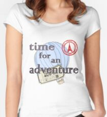 Time for an Adventure Women's Fitted Scoop T-Shirt