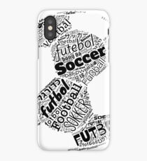 Football, Soccer, Futbol, the International Obsession Polyglot iPhone Case/Skin