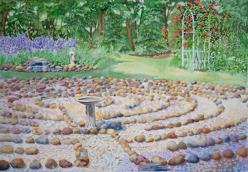 Kim's Labyrinth by Susan LeMay RN