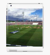Edgbaston Test, Day One. iPad Case/Skin