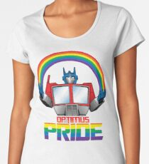 Optimus Pride Women's Premium T-Shirt