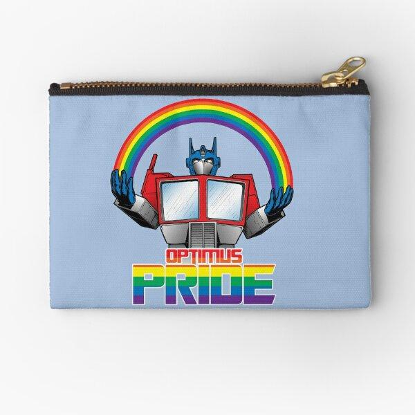 Optimus Pride Zipper Pouch