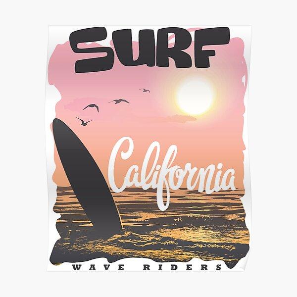 California Surf Poster