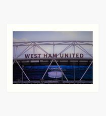 West Ham United, London Stadium Art Print
