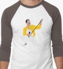 Fred #1 Men's Baseball ¾ T-Shirt