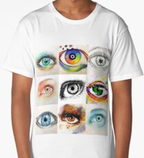 Eyes Long T-Shirt