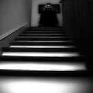 dark at the top of the stairs by shawhouse