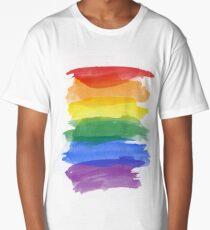 Pride Colors Camiseta larga