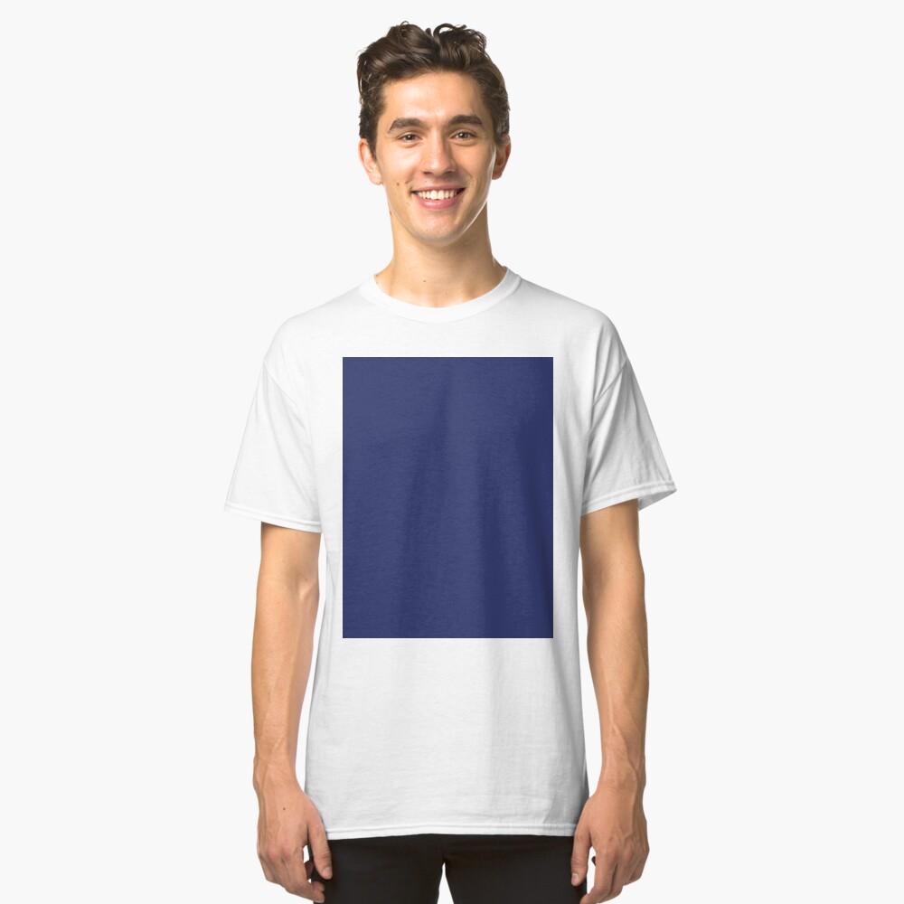 moderno con playas preppy náutico azul marino Camiseta clásica