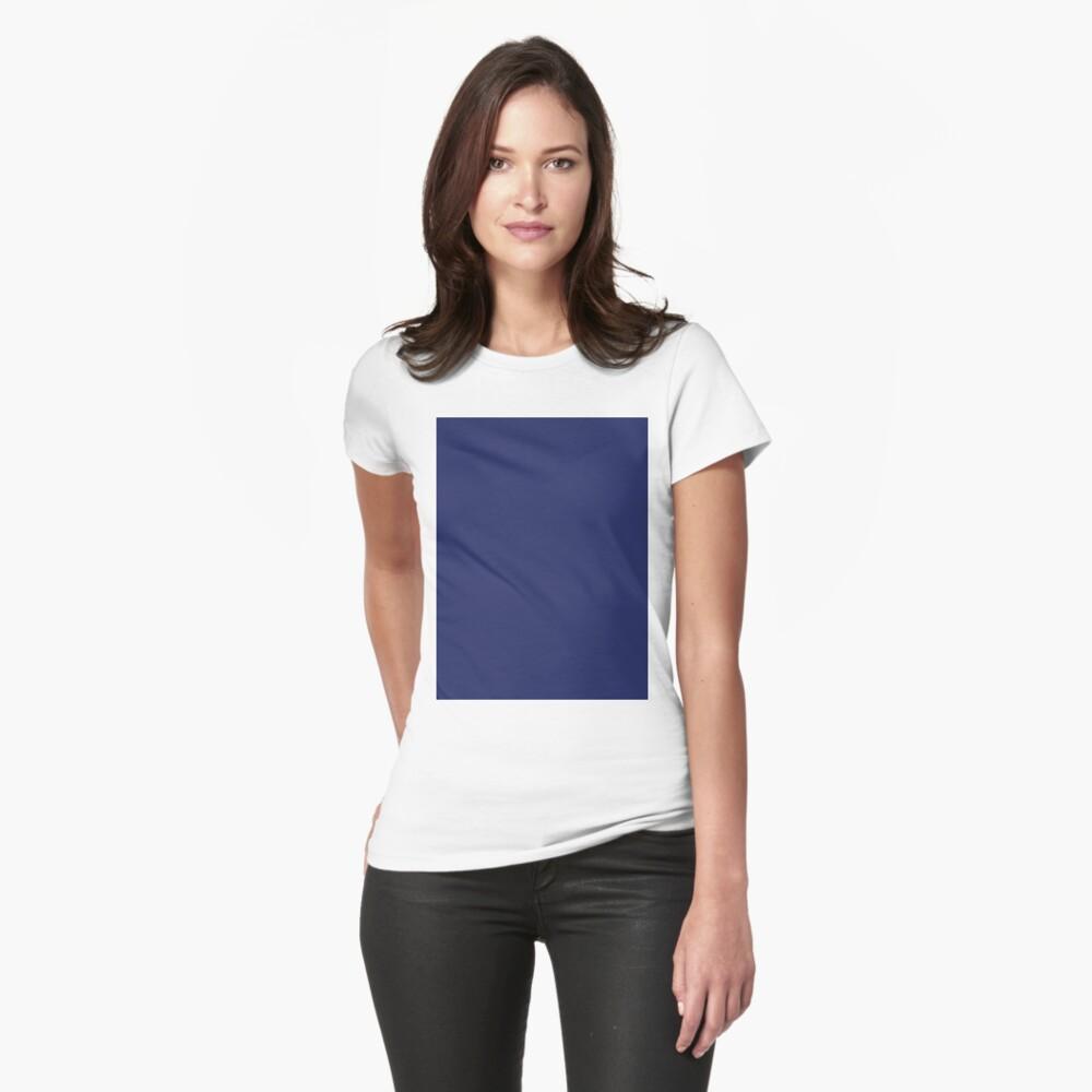 moderno con playas preppy náutico azul marino Camiseta entallada