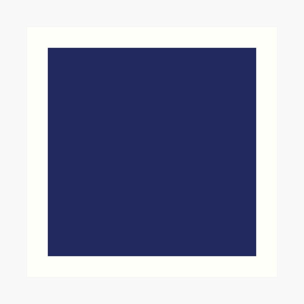 moderno con playas preppy náutico azul marino Lámina artística