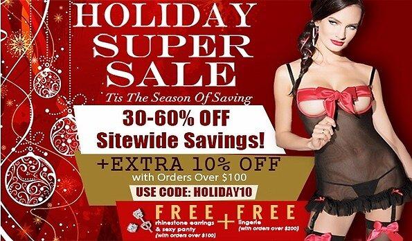 Holiday Super Sale by stacymolugo